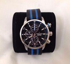 Mens Maurice Lacroix Pontos Automatic Watch, Chronograph BLUE PT6008