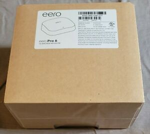 eero Pro 6 1Gbps Tri-Band Mesh Router - Available now, ready to be shipped!