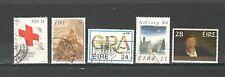 R955 - IRLANDA 1988 - SERIE COMPLETA USATA  N°667,671/73,685 - VEDI FOTO