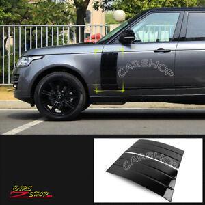 For Range Rover L405 2013-2021 Glossy Black Door Side Fender Vent Grille Cover