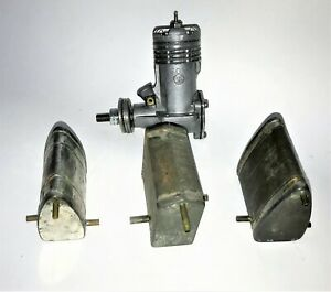 Vintage Perfect Brand Fuel Tank Lot of 3Pcs for CL Stunt Model Airplane Engine