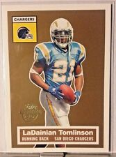 2005 TOPPS TURN BACK THE CLOCK LaDAINIAN TOMLINSON CHARGERS     WM15