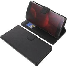 Tasche für Elephone C1 Max Book-Style Schutz Hülle Handytasche Buch Schwarz