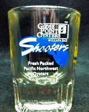 Nos the Nugget Casino Reno Nevada Oyster shooter shot glass colorful