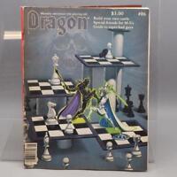 Vintage TSR The Dragon Magazine #86 D&D AD&D