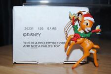Disney / Grolier Bambi Christmas Tree Ornament