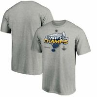 St. Louis Blues 2019 Stanley Cup Champions gray Men's T-Shirt Gray