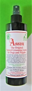 Dog Flea Tick Grooming Lotion Spray Natural  Non Toxic  260ml Assisi Veterinary