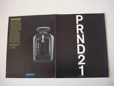 advertising Pubblicità 1971 FIAT CAMBIO AUTOMATICO