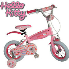 "Fahrrad Kinderfahrrad HELLO KITTY 12"" TANK Rosa"