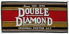 Double Diamond Cotton Bar Towel   (pp)