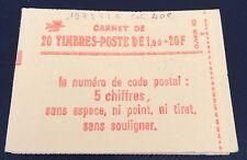 France Carnet N° 1973 C1 À  20 Timbres De 1 F Vert TB Qualité Côté 40€