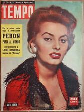 TEMPO 18 AGOSTO 1955 PERON LUCKY LUCIANO GEORGE RABORN STADIO SAN SIRO CHRISTIAN