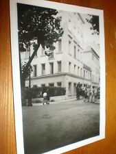 Old photo Queen's Hotel Nice France c1948