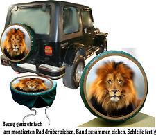 Auto Jeep Suzuki SUV Andere  Löwe Action Reserveradabdeckung Bezug Air BrushRep.