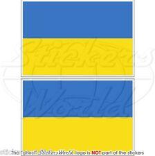 UCRAINA Ucraino Ukrayina Scudo Adesivi per Cellulare 40mm Mini Stickers x6