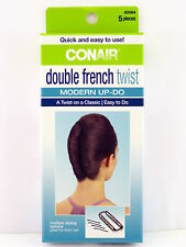 CONAIR DOUBLE FRENCH TWIST MODERN UP-DO - 5 PIECE KIT  (55904)