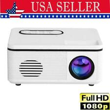 New listing 30 Lumens 1080p Hd Led Mini Projector Smart Home Theater Cinema with Usb Av Port
