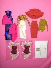 """Integrity Fashion Royalty - Lot of Misc. East 59th 12"""" Doll Clothes"""