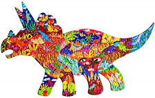Puzzles for Kids Ages 4-8, 8-10 and Adults Triceratops Dinosaurs 150 Pieces for