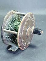 """Vintage Scottish Fishing Reel 3.25"""""""