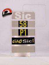 "MINICHAMPS MARCO SIMONCELLI PITBOARDS MOTOGP SCALA 1/12 VALENCIA 2011 ""CIAO SIC"""