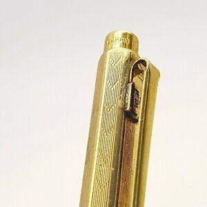 Vintage CARAN D'ACHE SWISS ballpoint pen gold plated