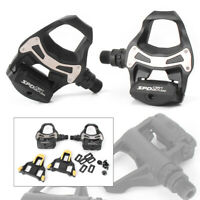 Pedal Clipless Road Bicycle Pedals + 6° Float Cleats For bike PD R550 SPD SL