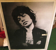 ROLLING STONES POSTER RARE NEW 2000'S VINTAGE MICK JAGGER LONDON 1975