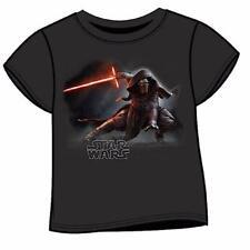 Magliette, maglie e camicie nere con logo per bambini dai 2 ai 16 anni 100% Cotone