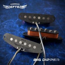 Strat Pickup Set for Stratocaster Guitar HandWound AlNiCo5 Big Dipper John Mayer