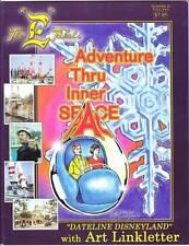 THE E TICKET #40 - magazine Walt Disney fanzine - Art Linklater, Inner Space