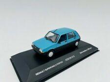 ODEON Renault Supercinq 1984  Echelle 1:43 Voiture Miniature - Bleu (ODE013)