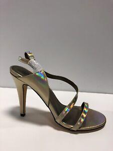 Michael Antonio Raspy Womens Sandal Gold US9 M
