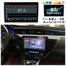"Single DIN Android 8.1 10.1"" auto STEREO RADIO reproductor de MP5 Gps Wifi 3G 4G BT DAB"