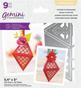 Gemini Multi Media Die - Mini Purse or 3D Box Die Sets by Crafters Companion