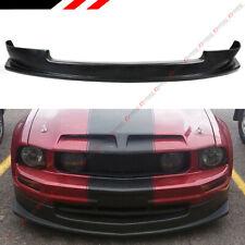 FOR 2005-2009 FORD MUSTANG S-197 V6 FRONT BUMPER LIP SPOILER SPLITTER BODY KIT