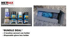 Disposable Glove box holder & 4 location Aerosol can holder *DEAL* Van Strorage