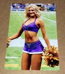 MINNESOTA VIKINGS sexy NFL CHEERLEADER 🏈 4x6 GLOSSY PHOTO 🏈 (#W249) hot !!