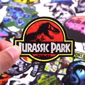 75PCS  Dinosaur  Jurassic Park Cool Stickers for Skateboard Fridge Phone Guitar