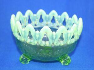 Mosser Glass Green Opal Bowl