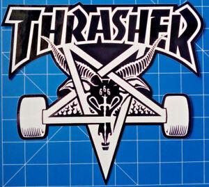 THRASHER STICKER PACK #15 **HUGE DECK SIZED SKATE GOAT STICKER**
