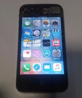 Apple iPhone 4s 16GB - Black- AT&T (A1387) - Unlocked- Read Below