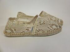 Joy and Mario Beige Espadrille Slip On Flat Women's US sizes 6-11 NEW!!!