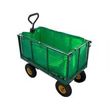 Garden Trolley Cart Large Load Capacity Heavy Duty All-Terrain Ideal for campin