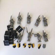 9X MEN AT ARMS METAL BRETONNIAN WARHAMMER BRETONIA