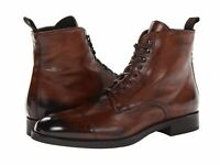 NEW-Handmade Men Brown Jodhpurs Ankle Boot, Men Ankle High Leather Boots-Lace Up