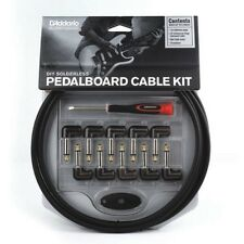 Planet Waves PW-GPKIT-10 Solderless Pedal Board Cable Kit (10 Plugs 10' Cable)