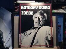 Anthony Quinn Is Zorba Souvenir Program