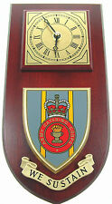 ARMY CATERING CORPS CLASSIC HAND MADE TO ORDER  WALL CLOCK